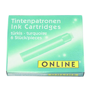 ONLINE Inkt cartridges ONLINE - Turquoise
