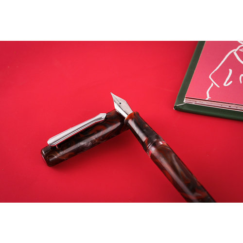 Narwhal Pens Narwhal fountain pen Schuylkill - Rockfish Red