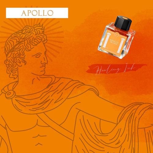 Laban Greek Mythology ink - Apollo Orange