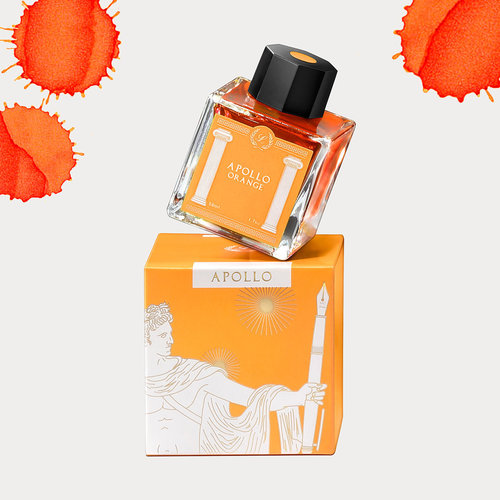 Laban Greek Mythology ink - Apollo Orange