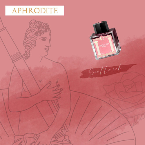 Laban Greek Mythology ink - Aphrodite Pink