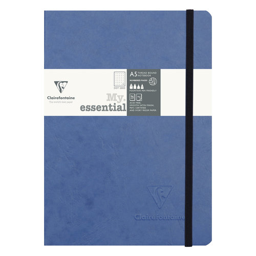 Clairefontaine My Essential Bullet Journal - Blue