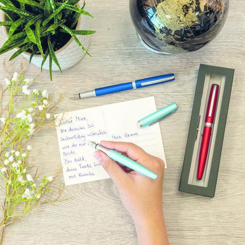 ONLINE Eleganza fountain pen - Satin Turquoise