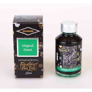 Diamine Shimmer ink - Magical Forest