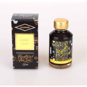 Diamine Shimmer ink - Golden Sands