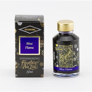 Diamine Shimmer ink - Blue Flame