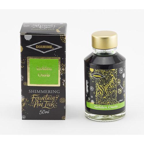 Diamine Diamine - Shimmer inkt - Golden Oasis