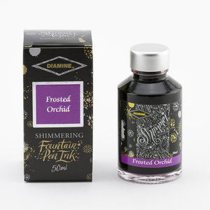 Diamine Shimmer inkt - Frosted Orchid
