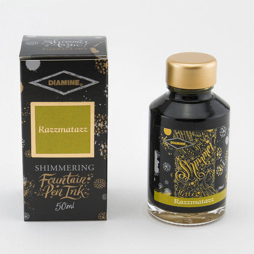 Diamine Shimmer ink - Razzmatazz