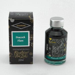 Diamine Shimmer ink - Peacock Flare
