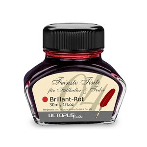 Octopus Fluids GmbH & Co. KG. Octopus fountain pen ink - Brilliant Rot