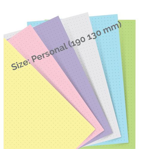 Filofax Filofax pastel dotted journal paper - Personal