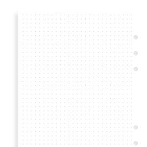 Filofax Filofax wit dotgrid notitiepapier - A5
