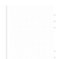 Filofax wit dotgrid notitiepapier - Personal