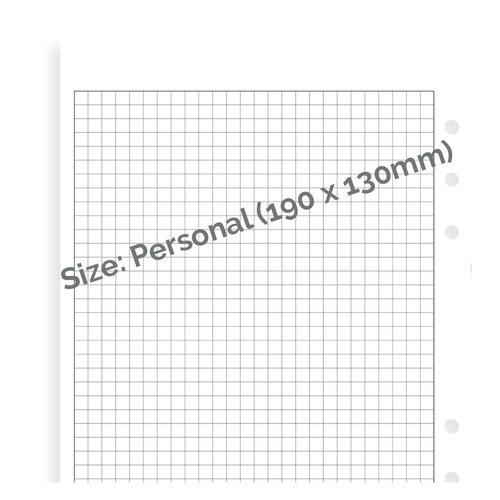 Filofax Filofax white squared note paper - Personal