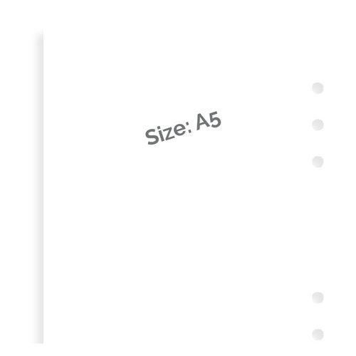 Filofax Filofax wit blanco notitiepapier - A5