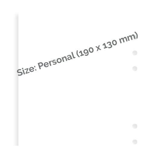 Filofax Filofax wit blanco notitie papier - Personal