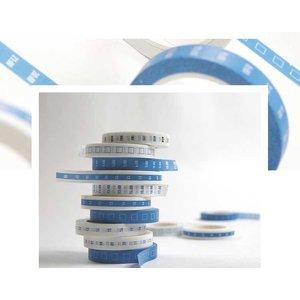 Scrittura Elegante Planner washi tape - Blue