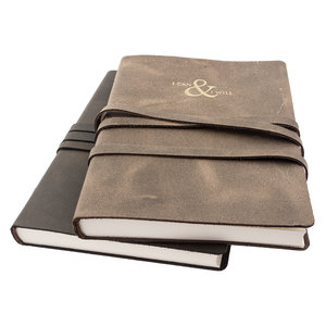 Manufactus I can & I will leather notebook
