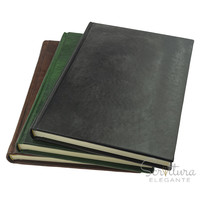 Echo Leather Notebook A4 Plain