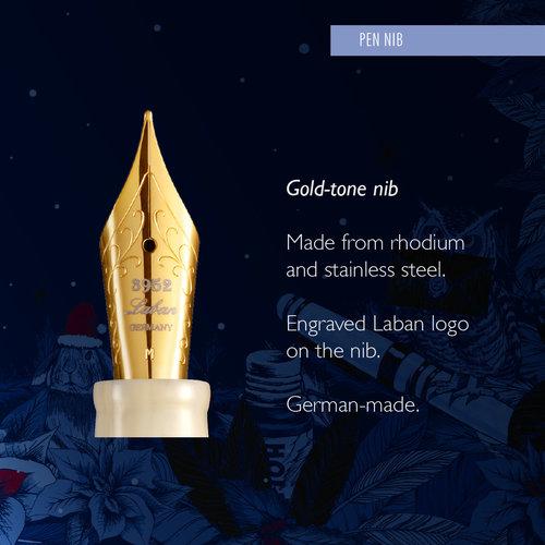 Laban Laban Snow fountain pen