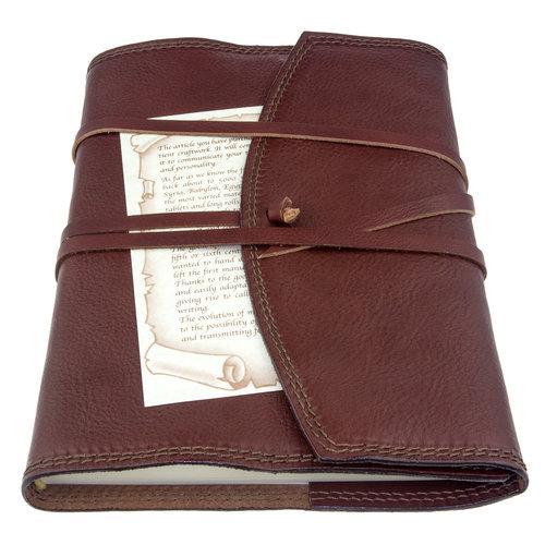 Legatoria Koiné Vernazza leren notitieboek