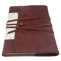 Vernazza leather notebook