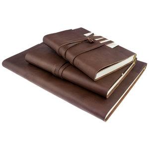 Legatoria Koiné Manarola lederen notitieboek