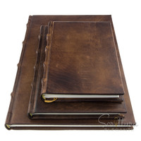 Monterosso leather notebook