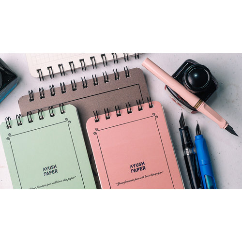 Ayush Paper Ayush paper pocket notebook - Dotted