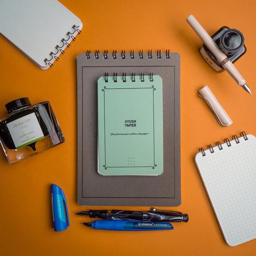 Ayush Paper Ayush paper pocket notebook - Dotted
