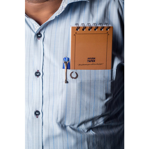 Ayush Paper Ayush paper pocket notebook - Blanco
