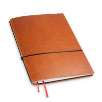 X17 Travel Journal / organizer - Brandy A5 - 1 elastiek