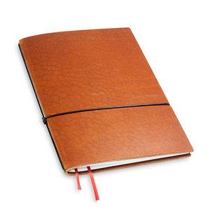 X17 Travel Journal / organizer - Brandy A5 - 1 elastic
