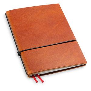 X17 Travel Journal / organizer - Brandy  A6 - een elastiek