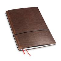 Travel Journal / organizer - Marone A5- een elastiek