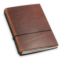 Travel Journal / organizer - Marone A6- drie elastieken