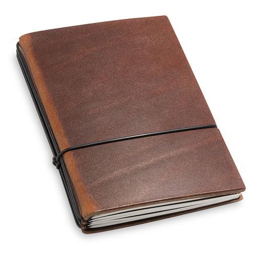 X17 Travel Journal / organizer - Marone A6- drie elastieken