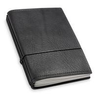 Travel Journal / organizer - Zwart A6 - drie elastieken