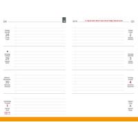 X17 Weekkalender 'Quer – Horizontaal' A5