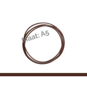 X17 ElastiXs- reserve elastics Brown A5