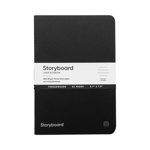 Endless Notebooks Storyboard notebook Standard Edition - Large - Ruled