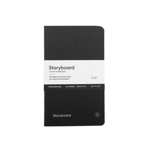 Endless Notebooks Endless Storyboard Standard - Pocket - Gelinieerd