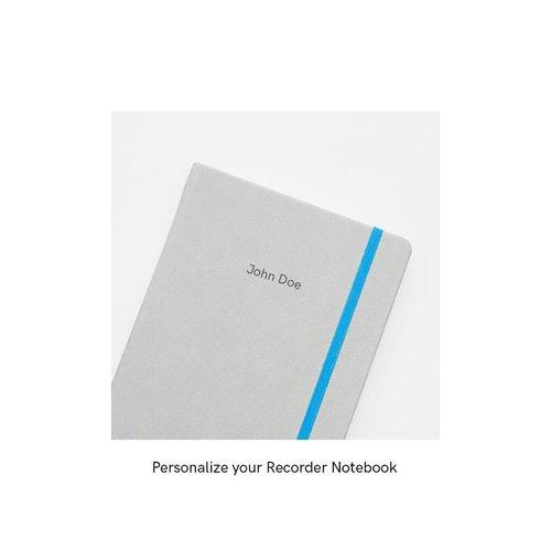 Endless Notebooks Endless Recorder notitieboek Mountain Snow - Gelinieerd