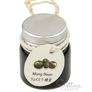 Gazing Far Gazing Far fountain pen ink - Mung Bean - sample