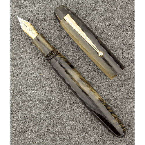 Edison Pen Co Edison Collier vulpen - Burnished Gold