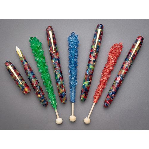 Edison Pen Co Edison Collier fountain pen - Rock Candy
