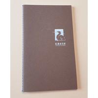 Lennon Toolbar Mini Notebook - Brown