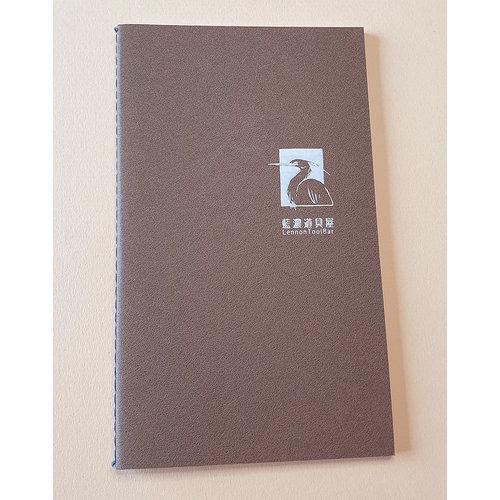 Lennon Toolbar ink Lennon Toolbar Mini Notebook - Bruin