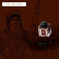 Greek Mythology inkt - Demeter Brown - Sample